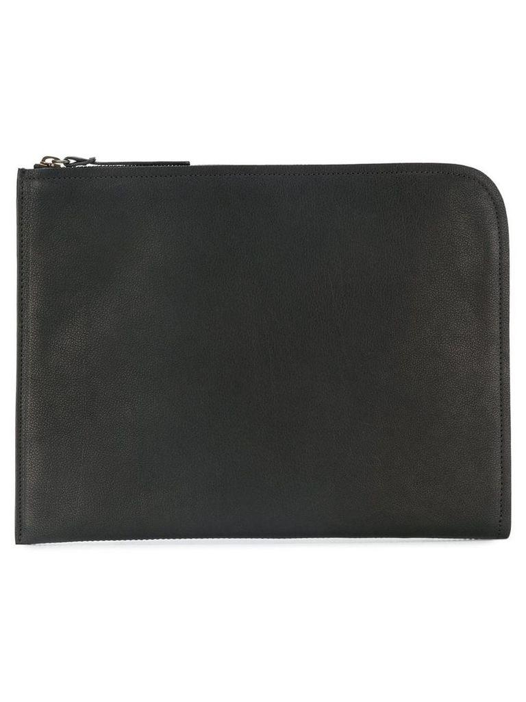 Officine Creative tablet zipped clutch - Black