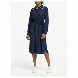 Essentiel Antwerp Sama Shirt Dress, Navy Blue