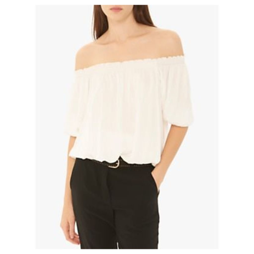 Gerard Darel Elizabete Off Shoulder Blouse, White