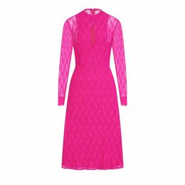 CocooVe - Amelie Lace Dress In Pink