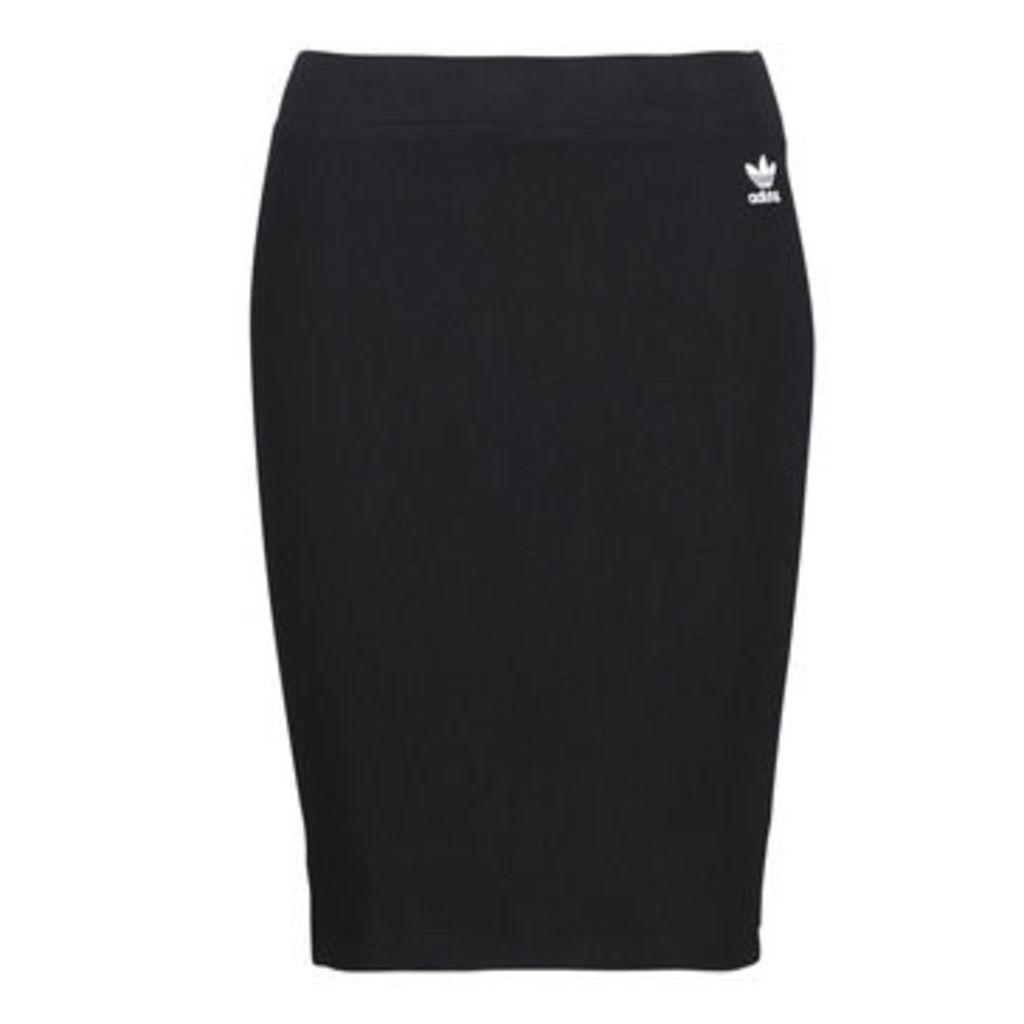 adidas  SC MIDI SKIRT  women's Skirt in Black