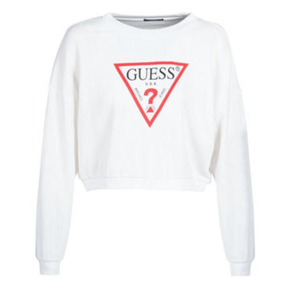Guess  BASIC  women's Sweatshirt in White