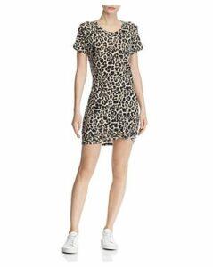 Generation Love Holly Leopard Print Tee Dress