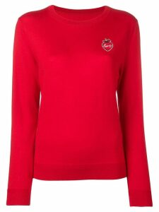 Chinti & Parker Love knitted jumper - Red