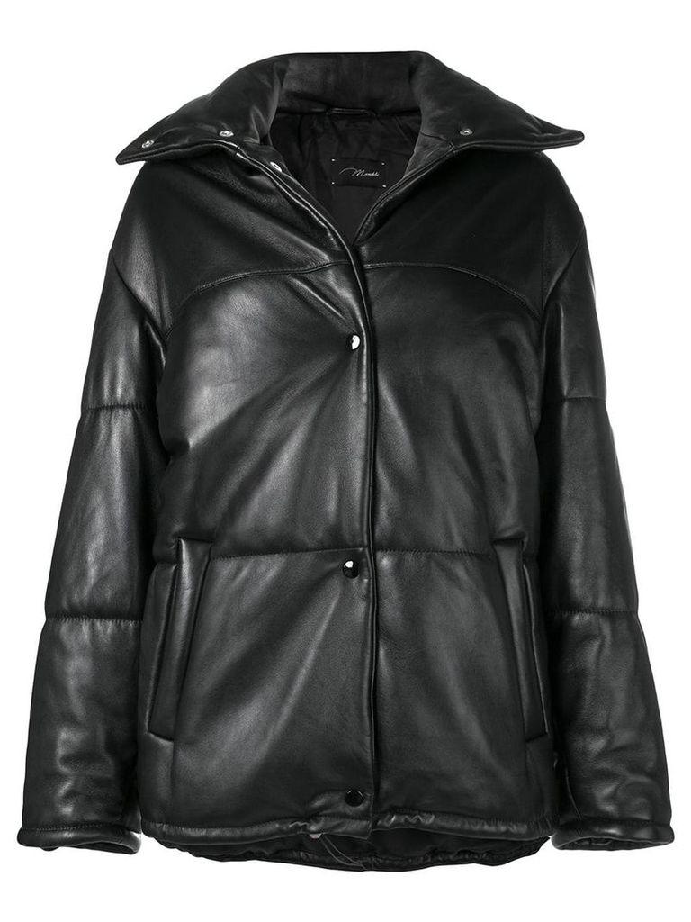 Manokhi padded drawstring jacket - Black