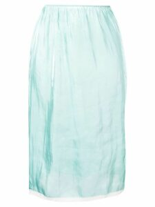 Prada straight-fit skirt - Green