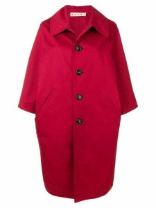 Marni oversized coat - Red