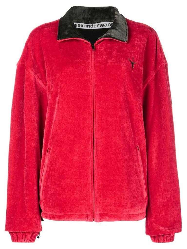 Alexander Wang zipped jacket - Red