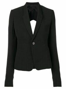 Rick Owens Sisyphus button jacket - Black