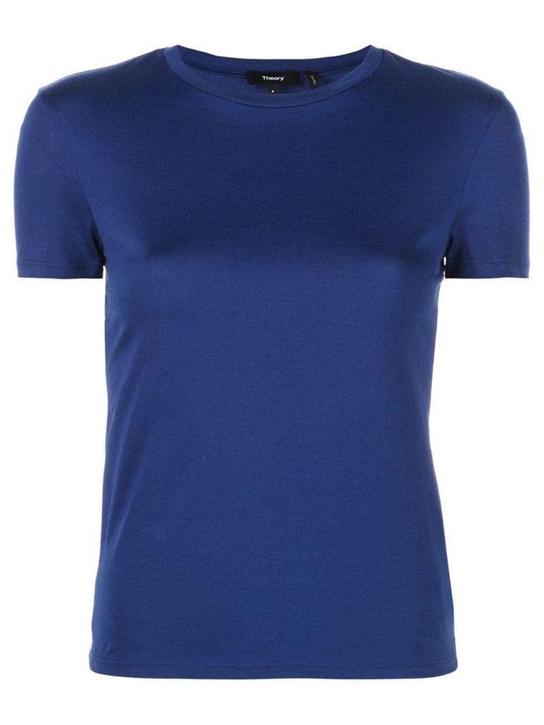 Theory plain T-shirt - Blue
