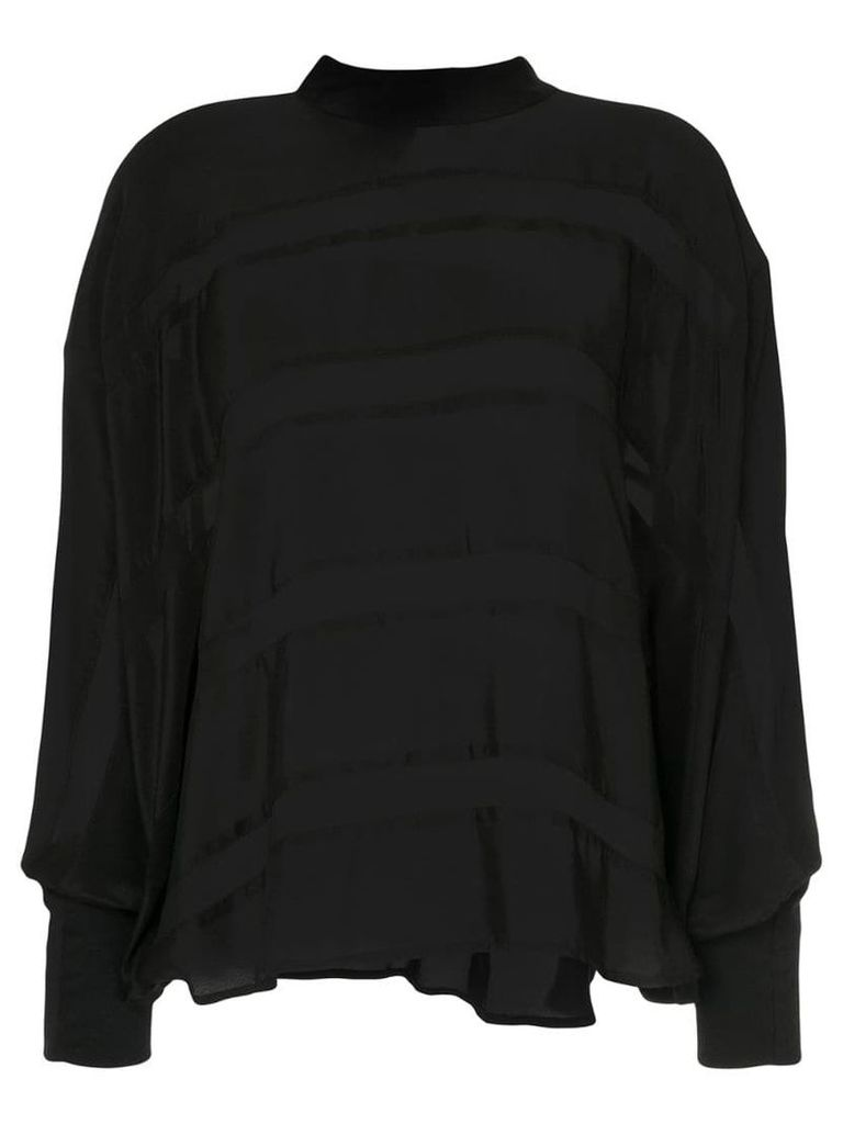 Taylor Epitomize tunic blouse - Black