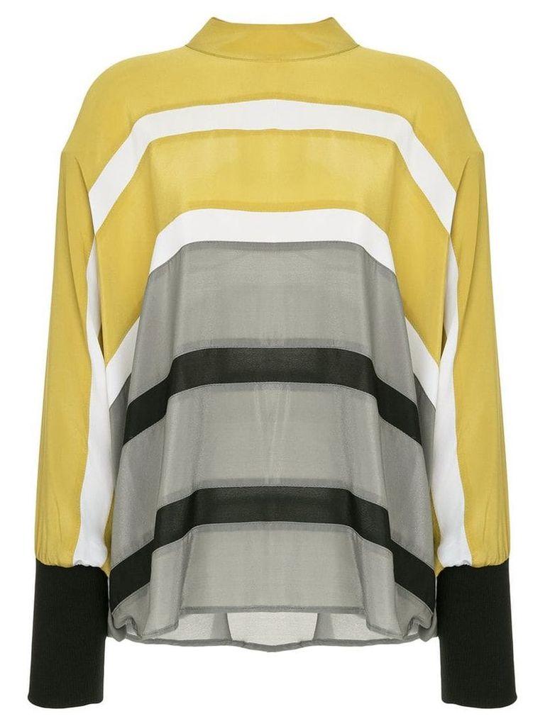 Taylor Epitomize tunic blouse - Yellow