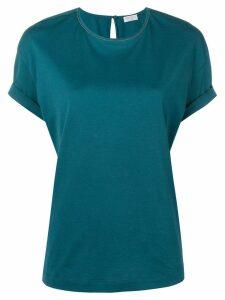 Brunello Cucinelli loose-fit T-shirt - Blue