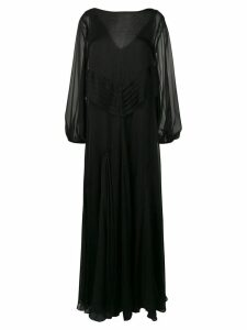 Irina Schrotter long sleeve dress - Black