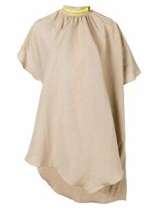 Aalto adjustable neck dress - Neutrals
