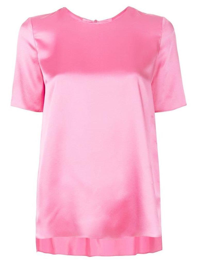 Adam Lippes flared T-shirt - Pink