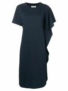 Aalto ruffle detail dress - Blue