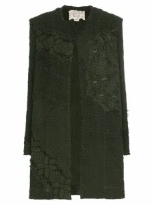 By Walid Miro embroidered coat - Green