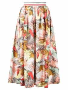 Missoni printed pleated skirt - Multicolour