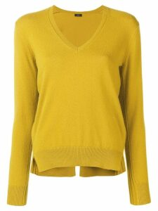 Joseph V-neck knit jumper - Yellow