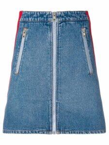 Kenzo striped mini skirt - Blue