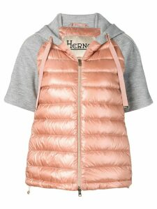 Herno padded hooded jacket - Pink