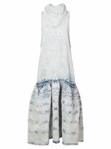 Proenza Schouler Acid Wash Denim Dress - Light Acid