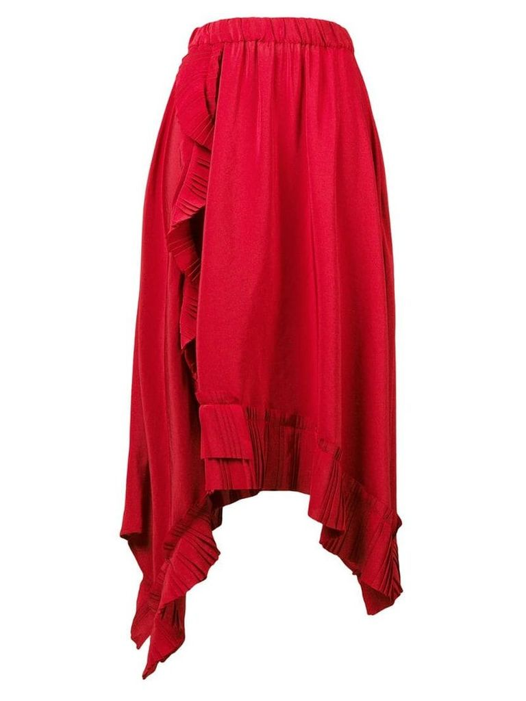 P.A.R.O.S.H. Potere skirt - Red