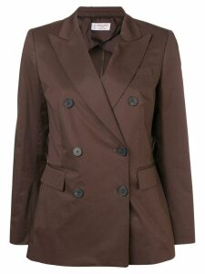 Alberto Biani double-breasted blazer - Brown