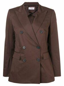 Alberto Biani double-breasted blazer - Brown
