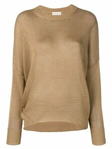 Etro loose-fit jumper - Brown