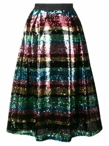 Ainea embellished sequin skirt - Purple