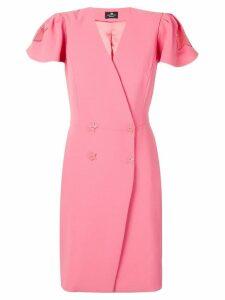 Elisabetta Franchi star detail dress - Pink