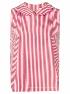 Société Anonyme striped sleeveless top - Red
