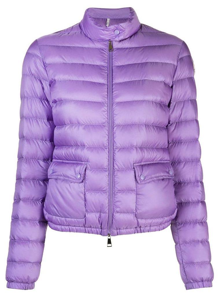 Moncler puffer jacket - Purple