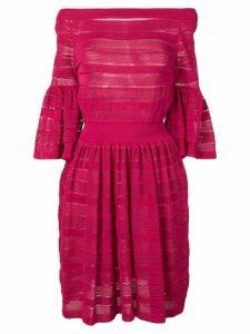 Antonino Valenti layered panel dress - Pink