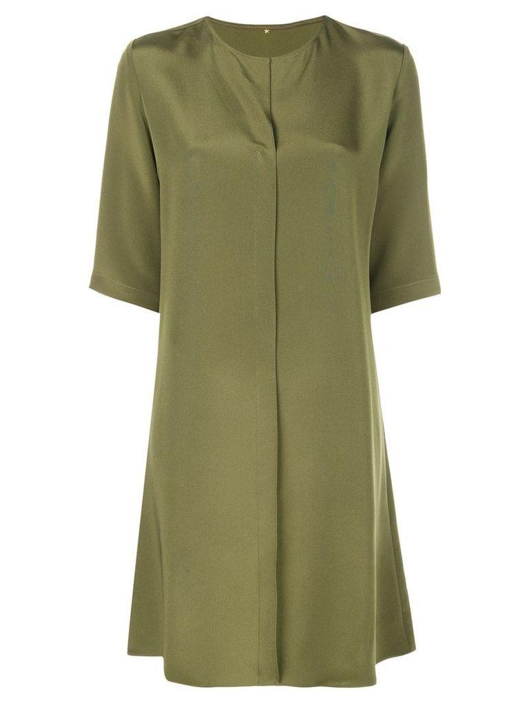 Peter Cohen minimal mini dress - Green
