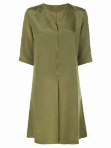 Peter Cohen minimal mini dress - Green