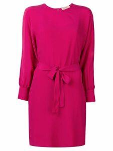 Twin-Set belted shift dress - Pink