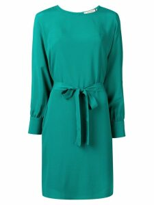 Twin-Set belted shift dress - Green