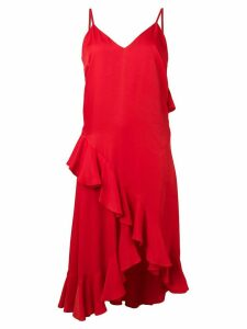 Kenzo ruffled dress - Red