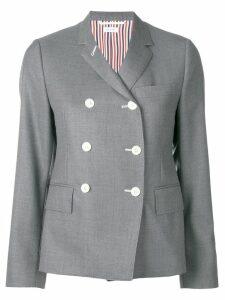Thom Browne Narrow Shoulder Wool Sport Coat - Grey