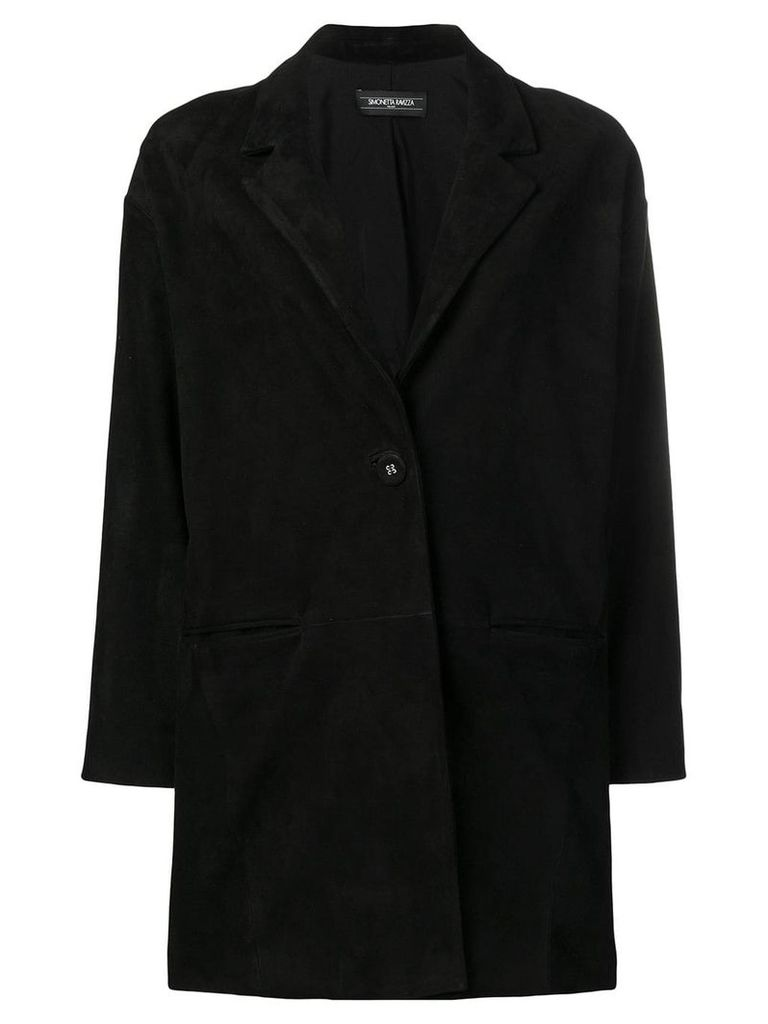 Simonetta Ravizza Margherita coat - Black