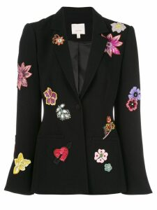 Cinq A Sept Botanical Rumi blazer - Black/Multi
