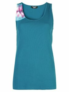 Calvin Klein tie-dye tank top - Blue