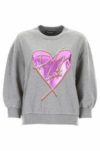 Dolce & Gabbana Heart Print Sweatshirt