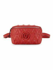 Fanny Studded Leather Belt Bag