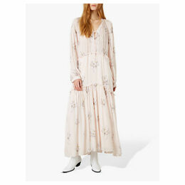 Iden Gipsy Flower Print Dress, Light Pink