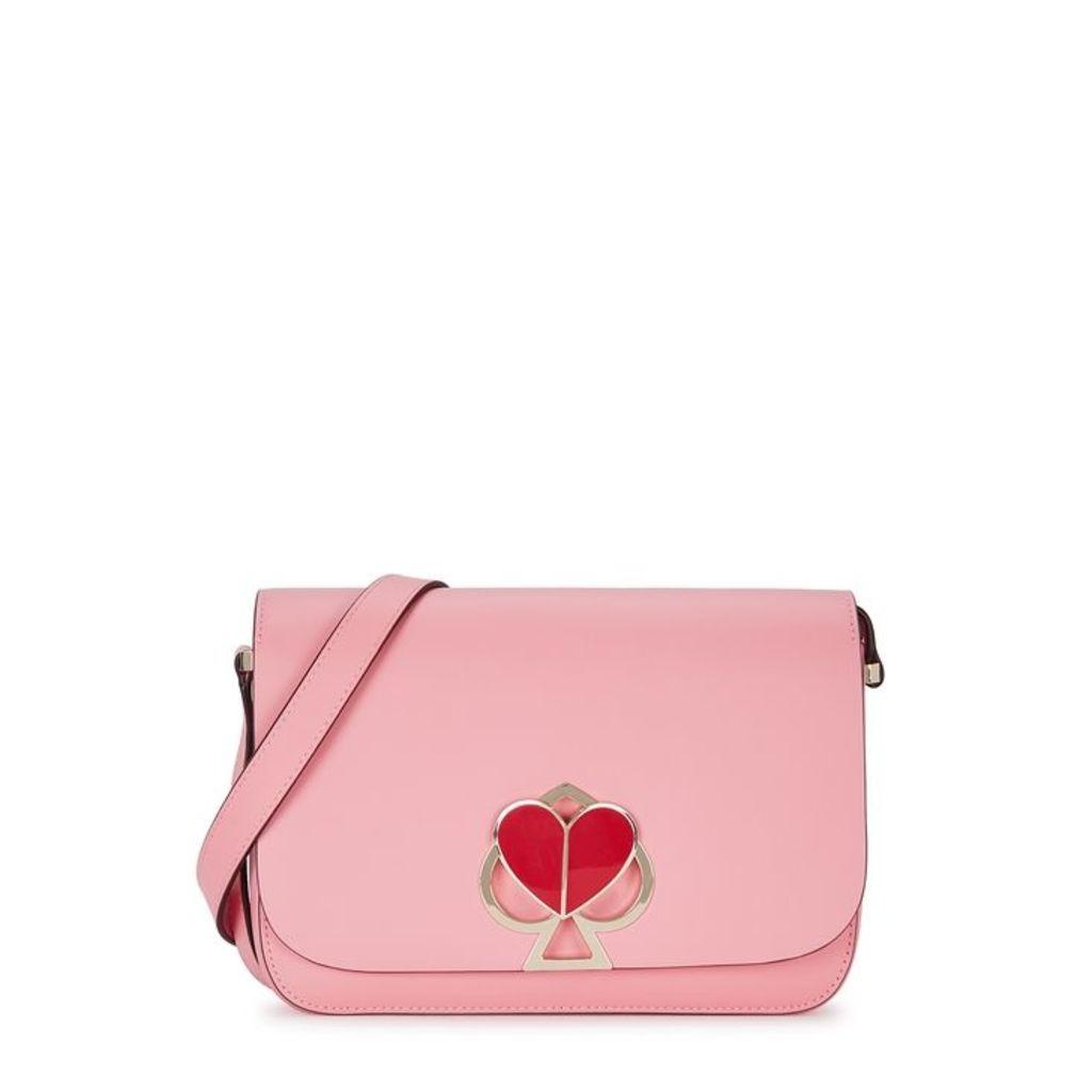 Kate Spade New York Nicola Pink Leather Cross-body Bag