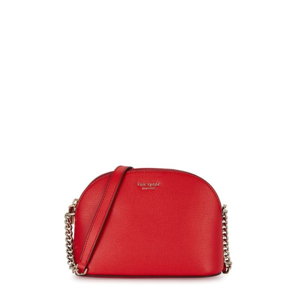 Kate Spade New York Sylvia Red Leather Cross-body Bag